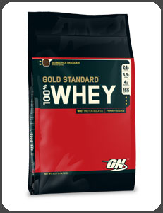 Optimum Nutrition GOLD STANDARD 100% WHEY, Double Rich Chocolate