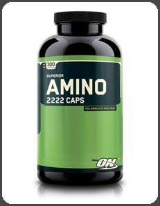 Optimum Nutrition SUPERIOR AMINO 2222 CAPSULES
