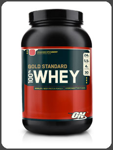 Optimum Nutrition GOLD STANDARD 100% WHEY, Delicious Strawberry