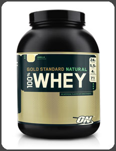 GOLD STANDARD nutrition optimale NATURAL WHEY 100% , vanille naturelle