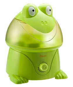 Crane Ultrasonic Cool Mist Humidifier, Frog (1 Gallon