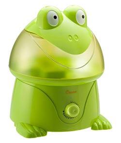 Crane Ultrasonic Cool Mist Humidifier, Frog (1 Gallon
