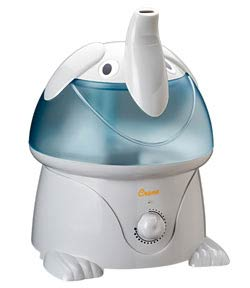 Crane Ultrasonic Cool Mist Humidifier, Elephant (1 Gallon)