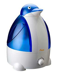Crane Ultrasonic Cool Mist Humidifier, Penguin (1 Gallon) Product Shot