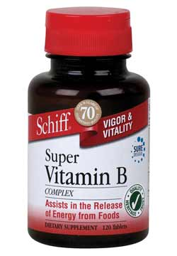 Schiff Super B-Complex Product Shot