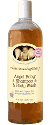 Earth Mama Angel Baby Angel Baby Shampoo and Body Wash 34oz