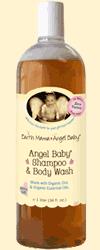 Earth Mama Angel Baby Angel Baby Shampoo and Body Wash 34oz