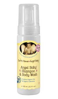 Earth Mama Angel Baby Angel Baby Shampoo and Body Wash