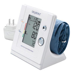 LifeSource Premium Stand-Up Blood Pressure Monitor (UA-853ACP) Product Shot