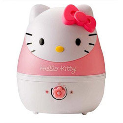 Crane Ultarsonic Cool Mist Humidifier, Hello Kitty (1 Gallon)