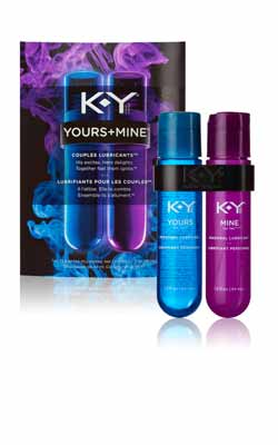 K-Y YOURS + MINE Product Shot