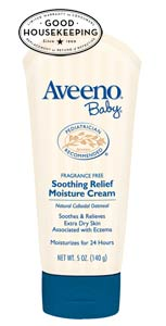 c26 B000YQUM5I 1 s Aveeno Baby Soothing Relief Moisture Cream, Fragrance Free, 8 Ounce Tube