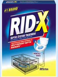 RID-X Septic System Treatment 1-Dose Liquid (8-Ounces, Pack of 2) Product Shot