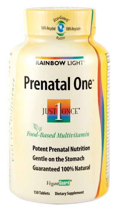 Amazon Com Rainbow Light Prenatal One Multivitamin 150