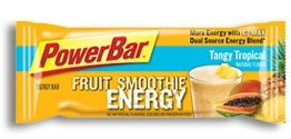 PowerBar Fruit Smoothie Energy Bar, Tangy Tropical (Pack of 12)