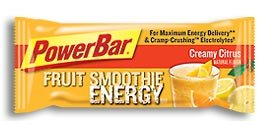PowerBar Fruit Smoothie Energy Bar, Creamy Citrus (Pack of 12)
