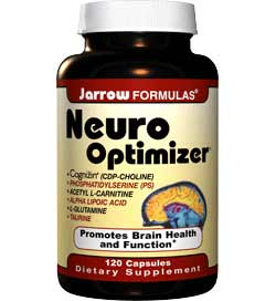 Jarrow Formulas Neuro Optimizer, 120 Capsules Product Shot