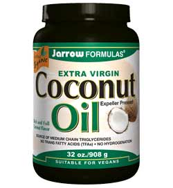 Jarrow Formulas Coconut Oil 100 Percent Organic, Extra Virgin, 32 Ounce Product Shot