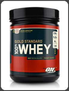 Optimum Nutrition GOLD STANDARD 100% WHEY, Mocha Cappuccino