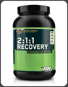 Optimum Nutrition 2:1:1 RECOVERY, Colossal Chocolate