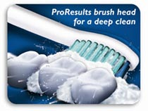 New ProResults brush head