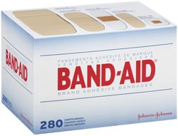 BAND-AID Brand Variety Pack (280-Count, Assorted Sizes) Product Shot