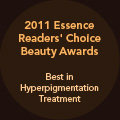 2011 Essence Readers' Choice Beauty Awards--Best in Hyperpigmentation Treatment