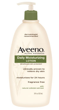 AVEENO Active Naturals Daily Moisturizing Lotion, 18-Ounce Pump (2-pack) Product Shot