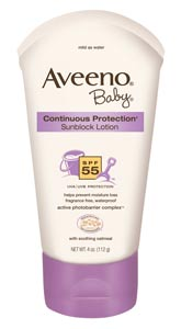 AVEENO Baby CONTINUOUS PROTECTION Sunblock Lotion
