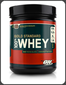 Optimum Nutrition GOLD STANDEARD 100% WHEY PROTEIN, Double Rich Chocolate