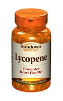 Sundown Naturals Lycopene 10 mg (60 Softgels)