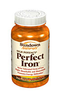 Sundown Naturals Perfect Iron (as Carbonyl Iron) (200 Tablets)