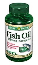 Nature 39 s bounty fish oil 1200mg 120 softgels for Nature s bounty fish oil review