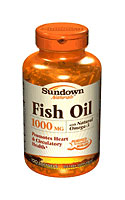 Sundown Naturals Fish Oil 1,000 mg (120 Softgels)