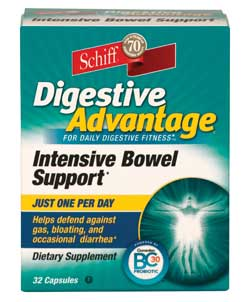 Schiff Digestive Advantage Intensive Bowel Support Product Shot