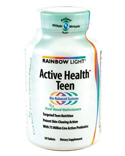 com rainbow light active health teen multvitamin 30 tablets health. Black Bedroom Furniture Sets. Home Design Ideas