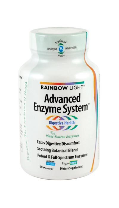 rainbow light advanced enzyme system 90 vcaps health. Black Bedroom Furniture Sets. Home Design Ideas