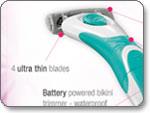 Schick Quattro for Women TrimStyle Razor and Bikini Trimmer (1-Pack) feature
