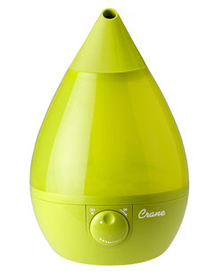 Crane Drop, Cool Mist Humidifier, Green Product Shot