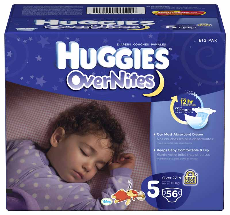 huggies overnites diapers nighttime sometimes calls for a different