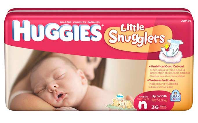 Give your baby our best fit ever with Huggies® Little Movers Diapers, our #1 trusted diaper. Little Movers are designed for active babies, with a special contoured shape for added comfort and Double Grip Strips that hold the diaper in place during active play.