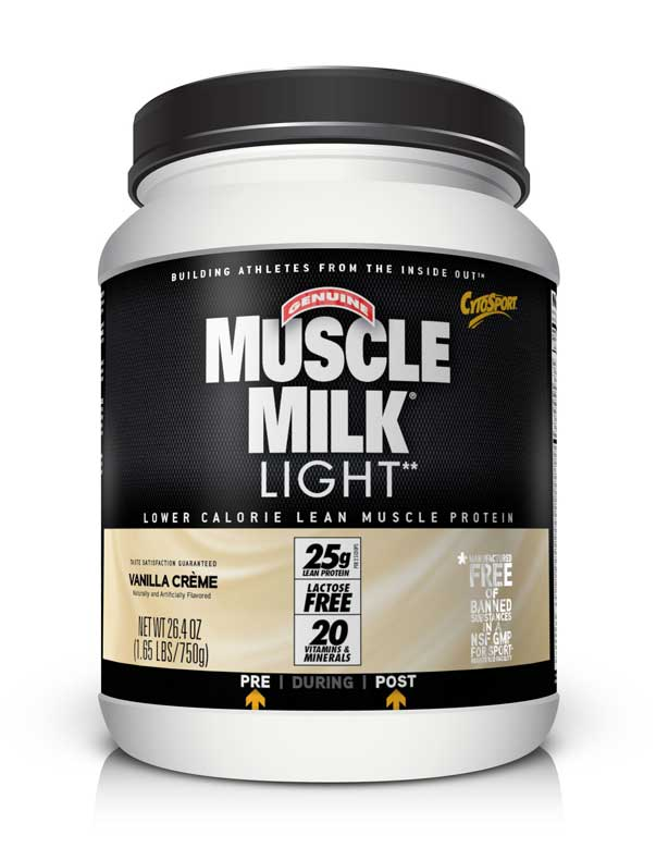 cytosport muscle milk light vanilla creme pound. Black Bedroom Furniture Sets. Home Design Ideas