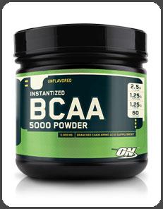 Optimum Nutrition INSTANTIZED BCAA 5000 POWDER, Unflavored