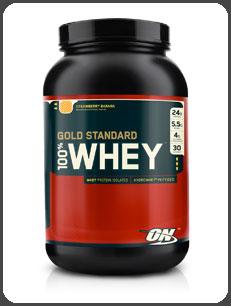Optimum Nutrition GOLD STANDARD 100% WHEY, Strawberry Banana