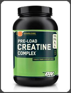Optimum Nutrition PRE-LOAD CREATINE COMPLEX, Mandarin Orange