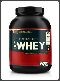 Optimum Nutrition GOLD STANDARD 100% WHEY, Chocolate Malt