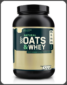 Optimum Nutrition NATURAL 100% OATS & WHEY, Vanilla Bean