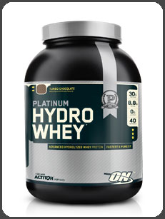Optimum Nutrition PLATINUM HYDRO WHEY, Turbo Chocolate