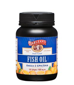 Barlean's Organic Oils Fresh Catch Signature Fish Oil Product Shot