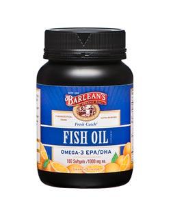 Barlean's Organic Oils Fresh Catch Signature Fish Oil Product Shot